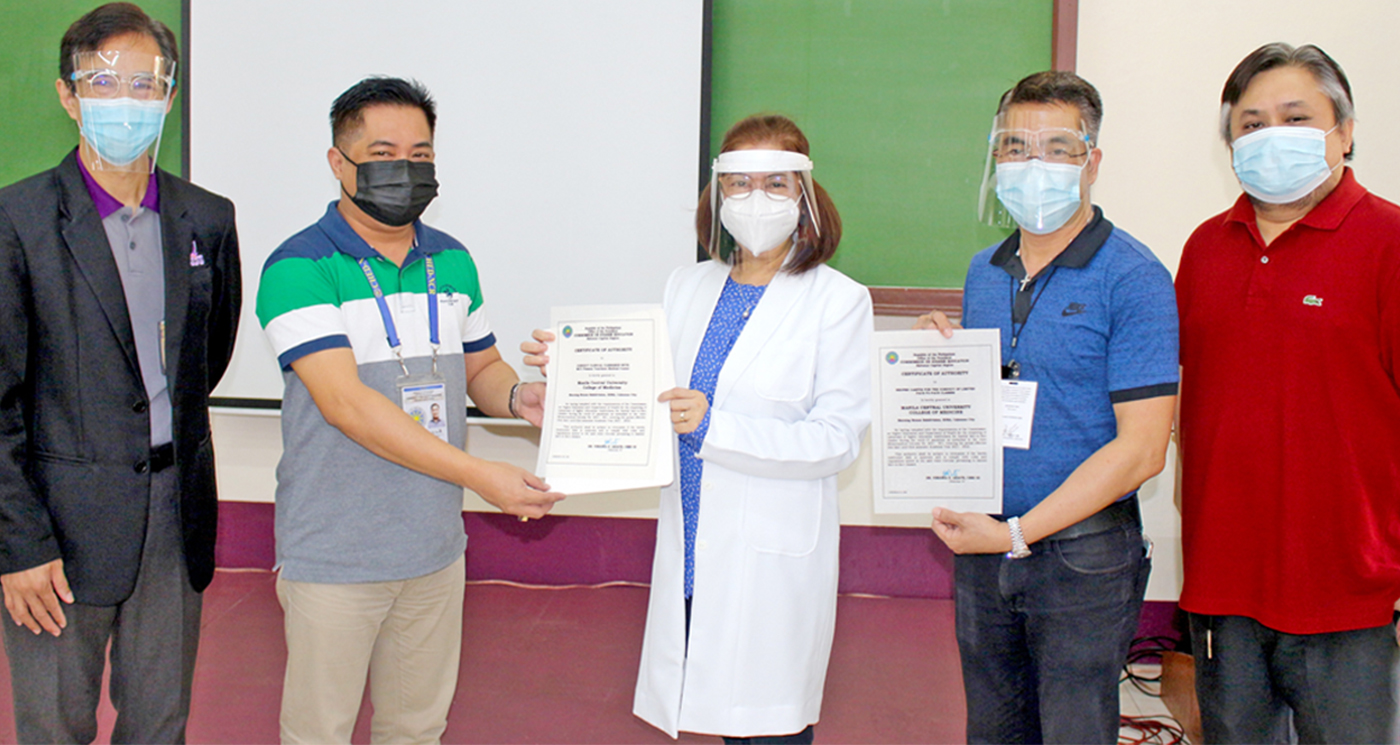 CHED approves MCU College of Medicine to hold limited face-to-face clinical clerkship for Fourth Year Centralinos